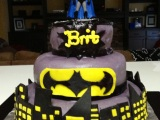 Sinfully Sanders -Batman Cake