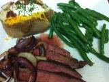 Grilled Flank Steak and Onions – 7PP