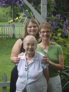 Me, Mom, Grammy - 2008