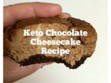 Keto (HFLC) Chocolate Cheesecake Bites