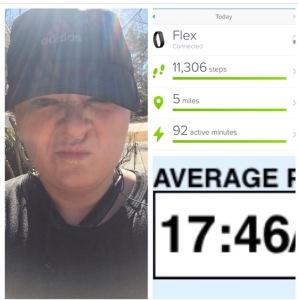 5 mile run