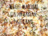 Italian Sausage Pasta Bake –7pp
